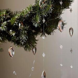 New Pottery Barn Christmas Tree Jewel Garland NWT